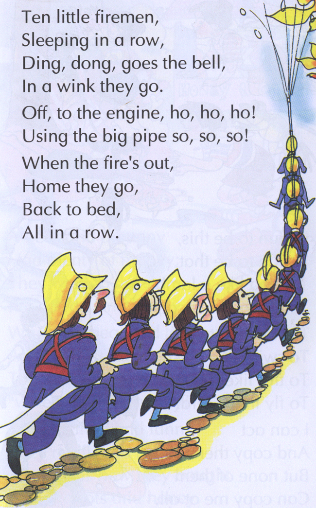 Ten Little Firemen